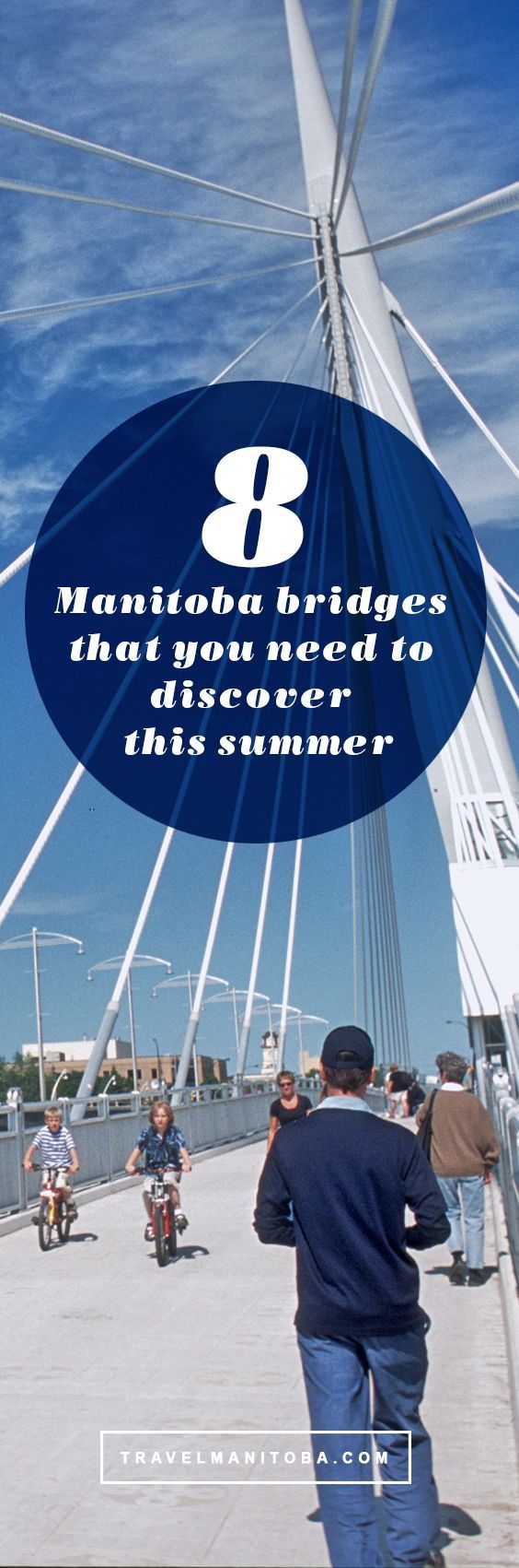 Find that bridge and cross in! Embark on a summer road trip
