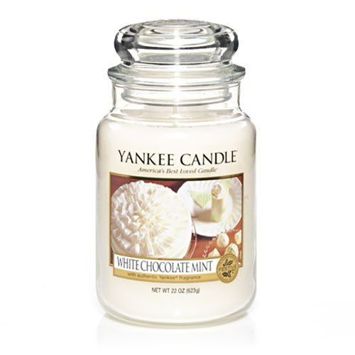 Yankee Candle White Chocolate Mint Yankee Candle Yankee Candle