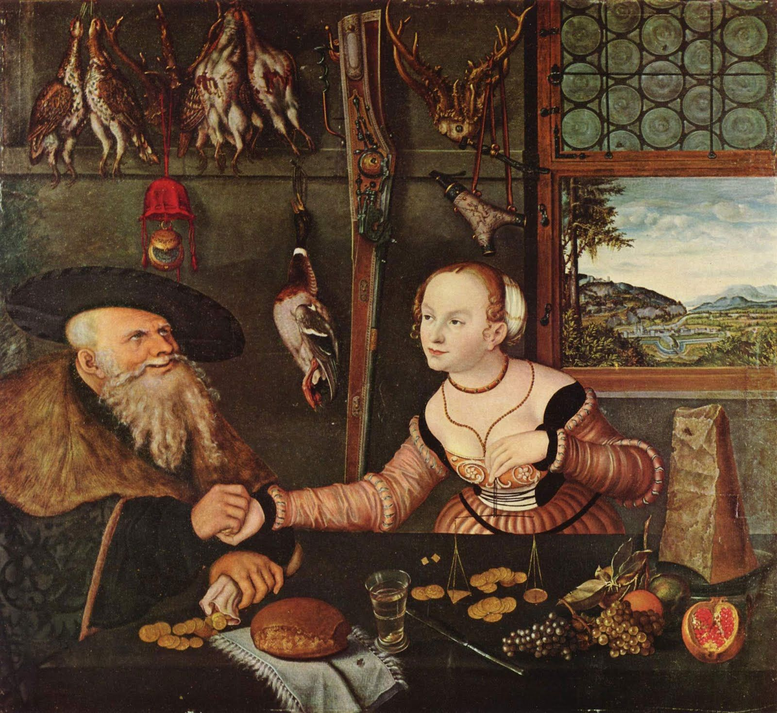 It\'s About Time: Unlikely lovers attributed to Lucas Cranach ...