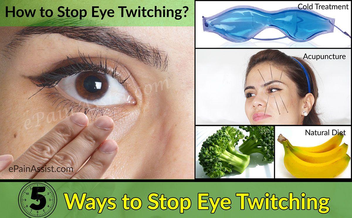 Pin on Eye twitch