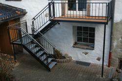 Außentreppe Stahl aussen treppe aus stahl külső lépcsők