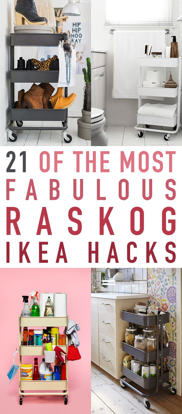 Kleine Küche Hacks 21 Of The Most Fabulous Raskog Ikea Hacks Kleine Küche