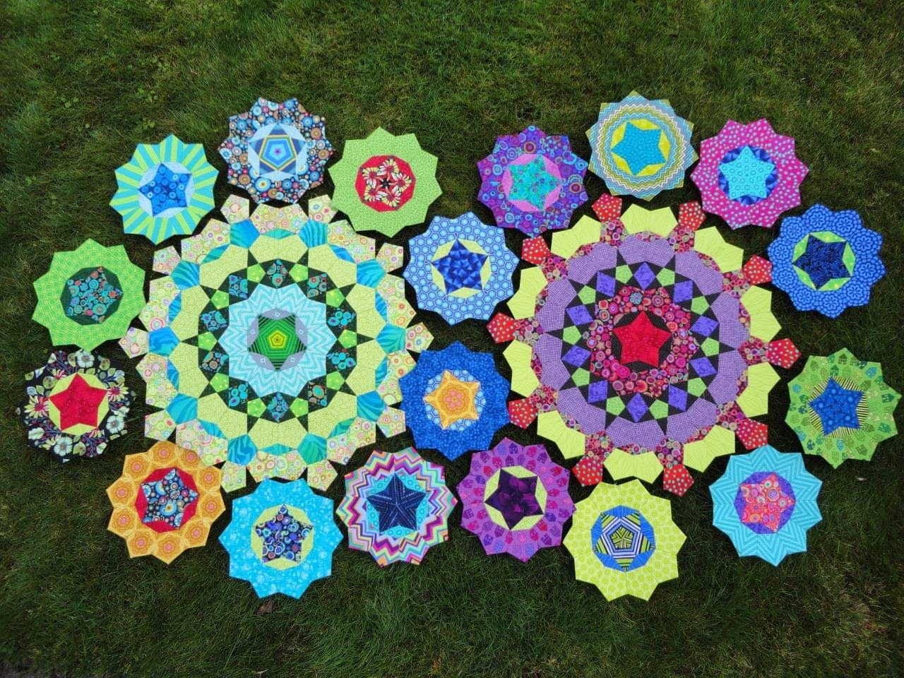 Wendy's quilts and more: La passacaglia update