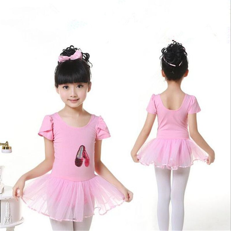 0296fb5629 Ballet Dress For Children 2016 New Arrival Child Girls Costume Dance Skirt  Tutu Leotard Saia Cotton Ballet Dancewear Dresses