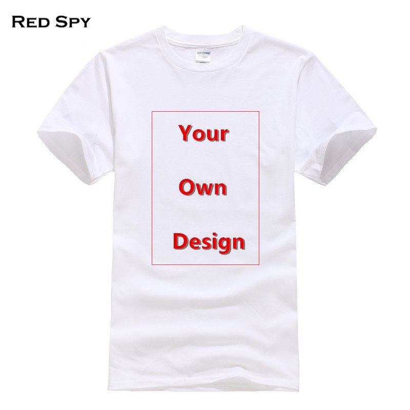 18b70667d1b1 mens haircut RED SPY Summer Cotton T shirt Men Customized Men's T shirt  Print Your Own Design High Quality Send Out In 3 Days ** Item can be found  on ...