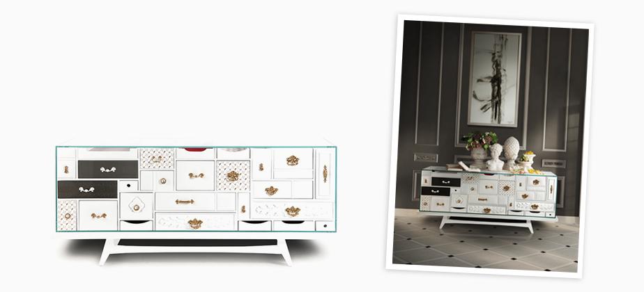 Mondrian Sideboard Exclusive Furniture | Modern, Luxury furniture ...