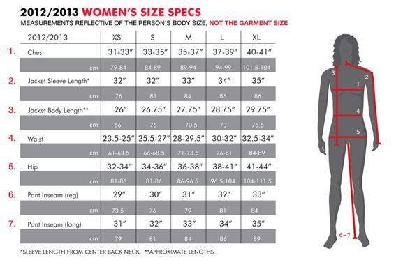 snowboard clothing size chart women also sewing pinterest rh