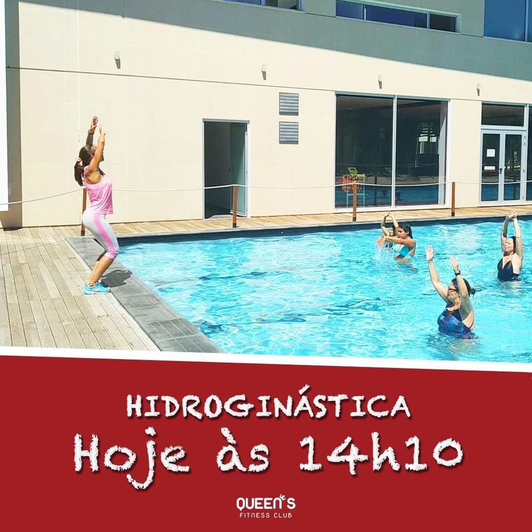Pronto!  A não perder! 💦  #queensfitnessclub #caldasdarainha #hidroginastica #hidro...