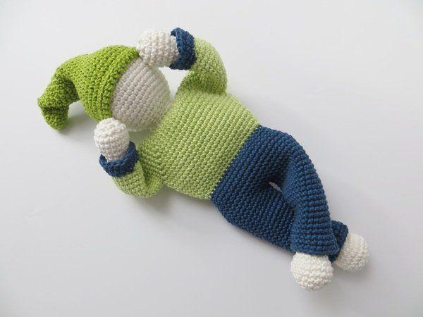 Häkelanleitung, Schmusepüppchen \'Babys erster Freund\' | Amigurumi ...