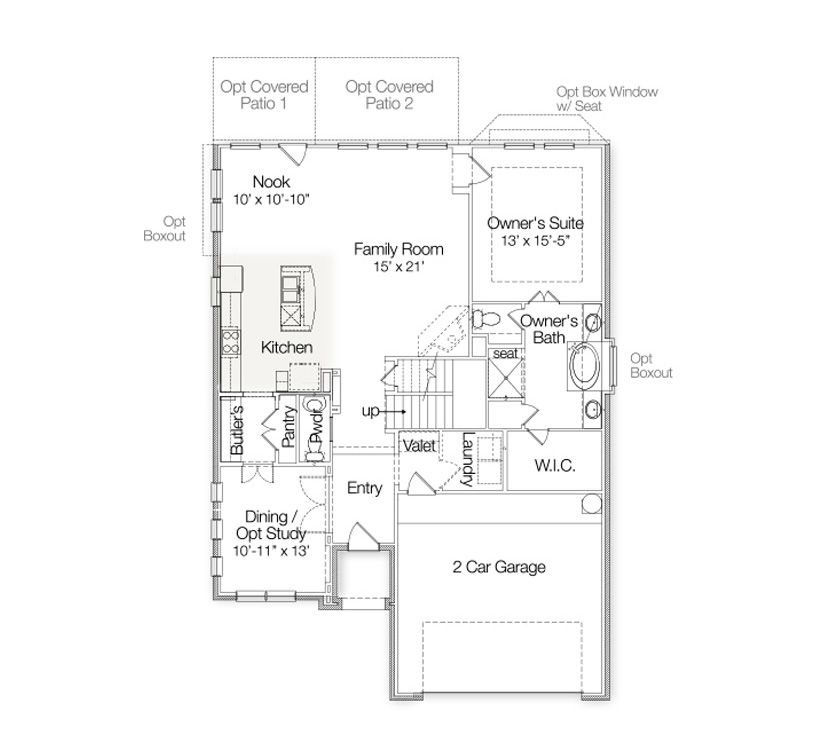 The Camelot Dunhill Homes Floor Plans Family Room Home