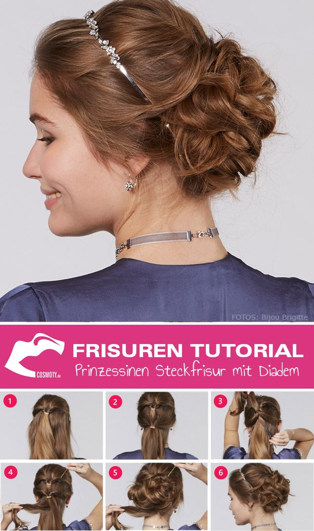 frisuren tutorial hochsteckfrisur princess updo mit. Black Bedroom Furniture Sets. Home Design Ideas