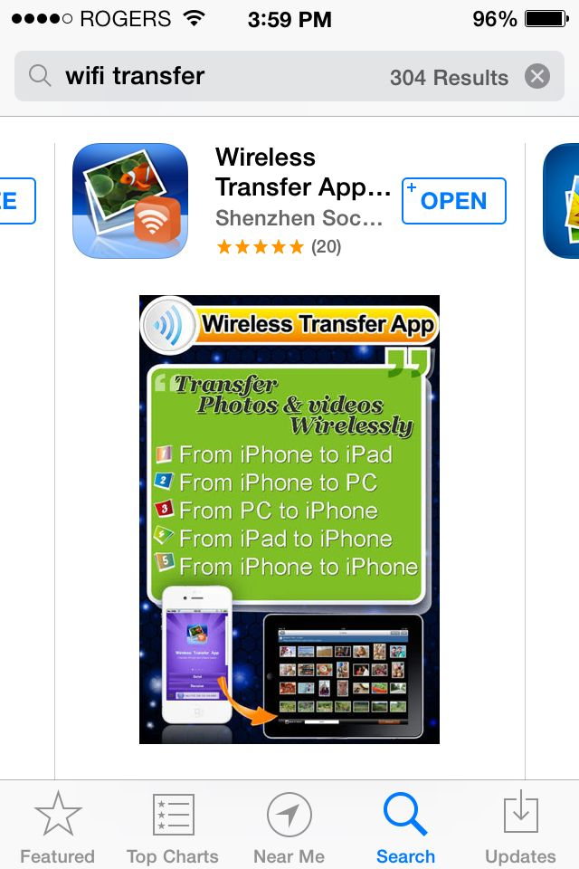 WiFi Transfer best way to transfer photos and videos