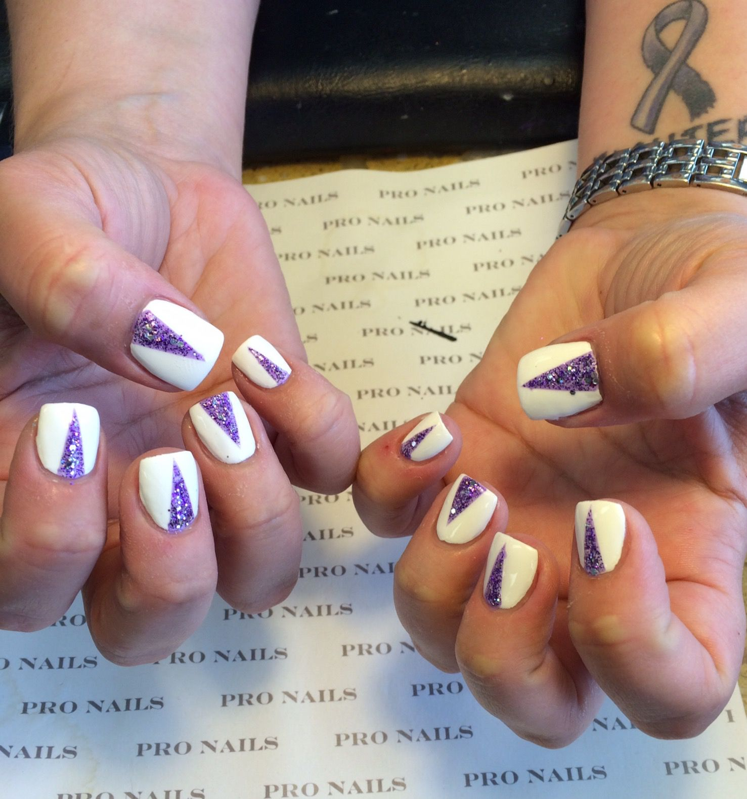 Triangle Nails Designs Pro Nails Pro Nails Pinterest