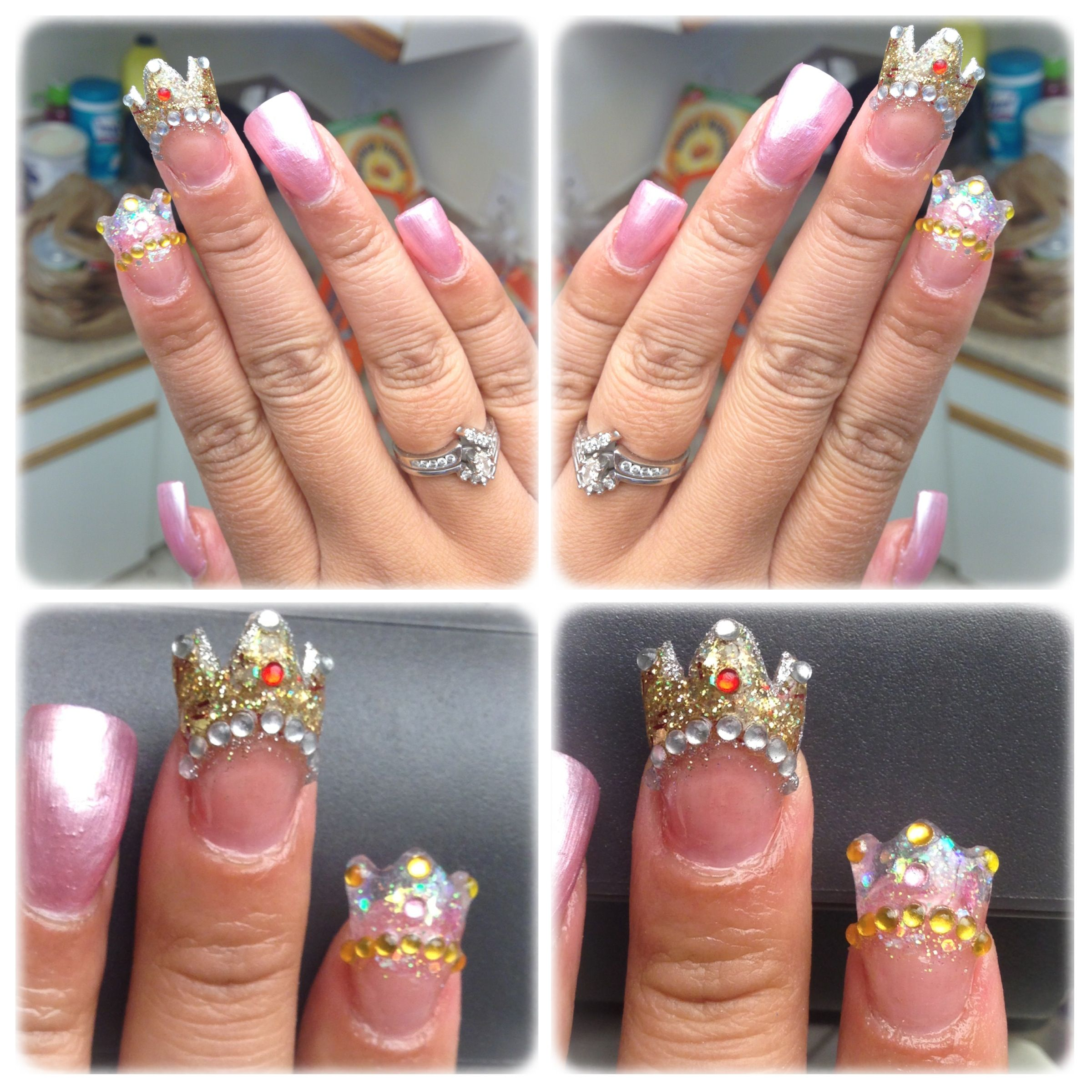 My king. His queen. Nails. Missing my husband. Can\u0027t wait