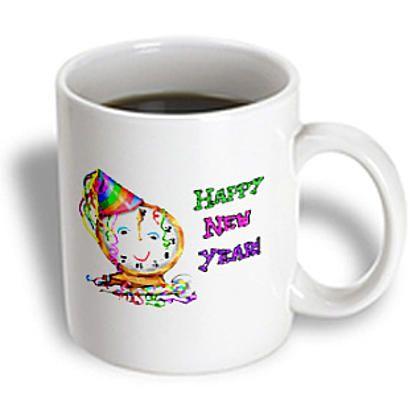 3dRose - #Holidays - #HappyNewYear - 11 oz #mug # ...