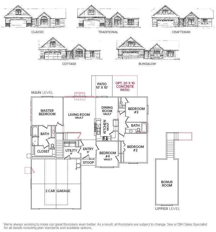 Northern 1996 Floor Plan Floor Plan Creations Cbh