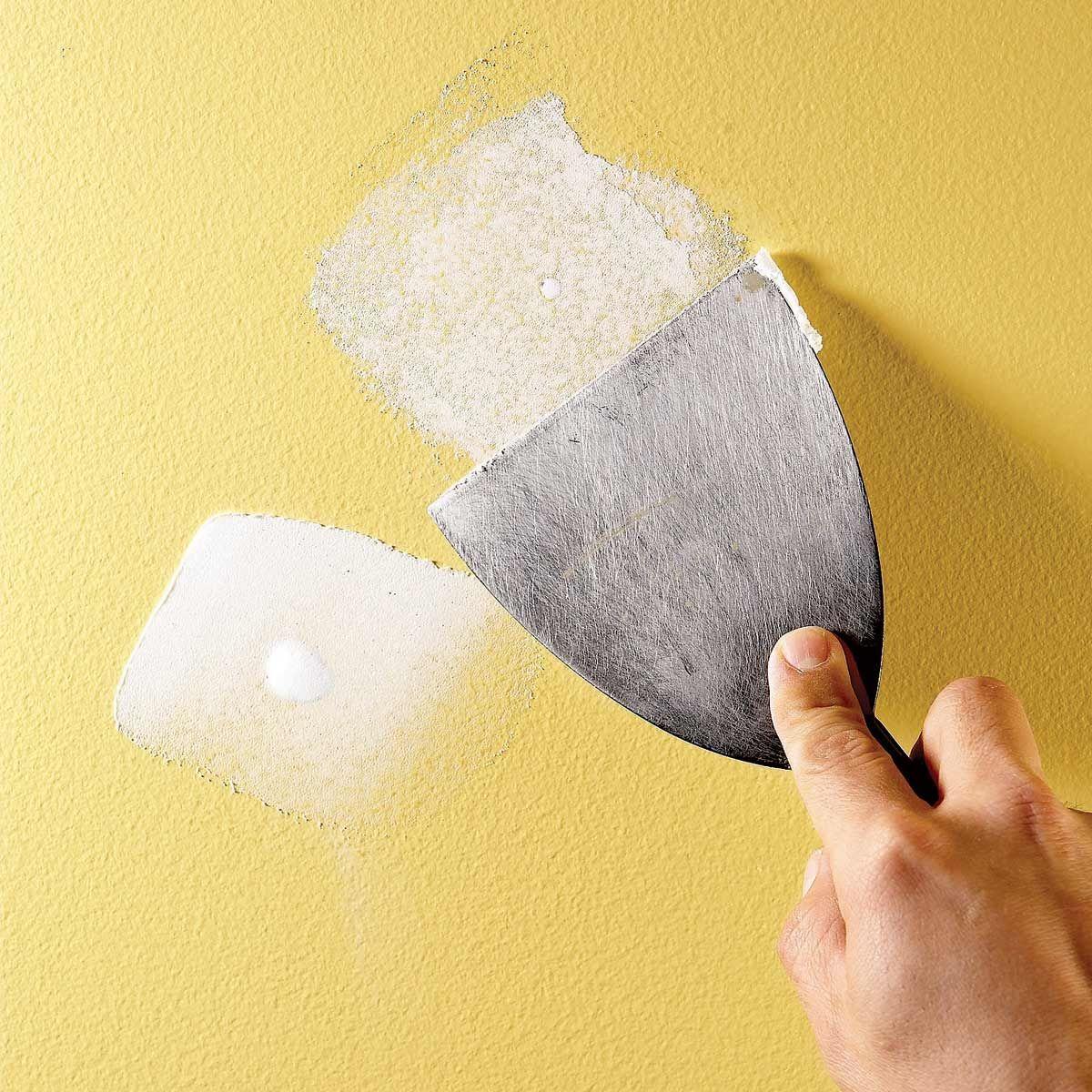 How To Fix Drywall Preparing Walls For Painting Drywall Repair Sheetrock Repair
