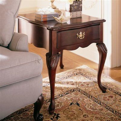 Kincaid Furniture Carriage House Rectangular Drawer End Table