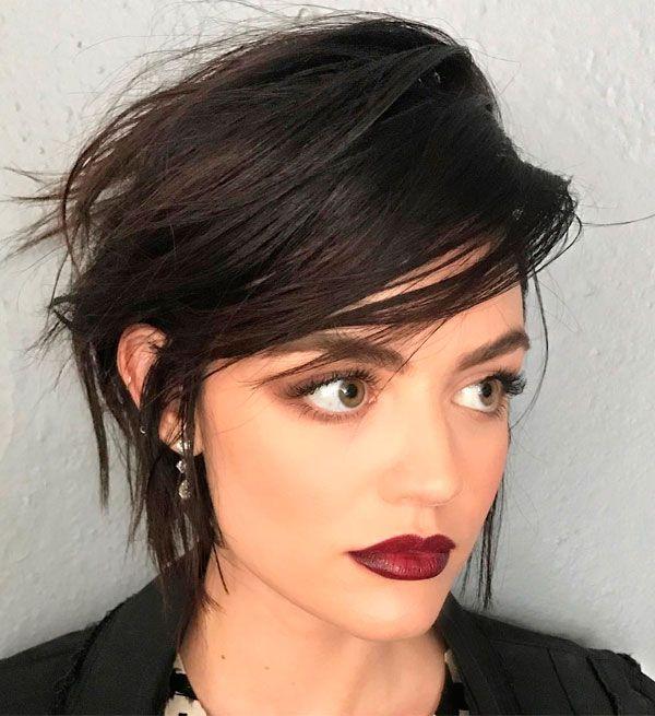 9 motivos pra copiar o cabelo da Lucy Hale Cabelo