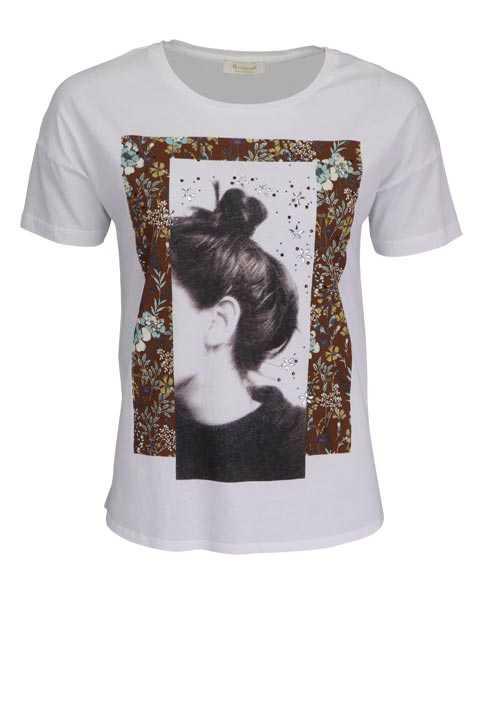 Richroyal Tshirt Trendige Tops Rich Royal Damenhaft