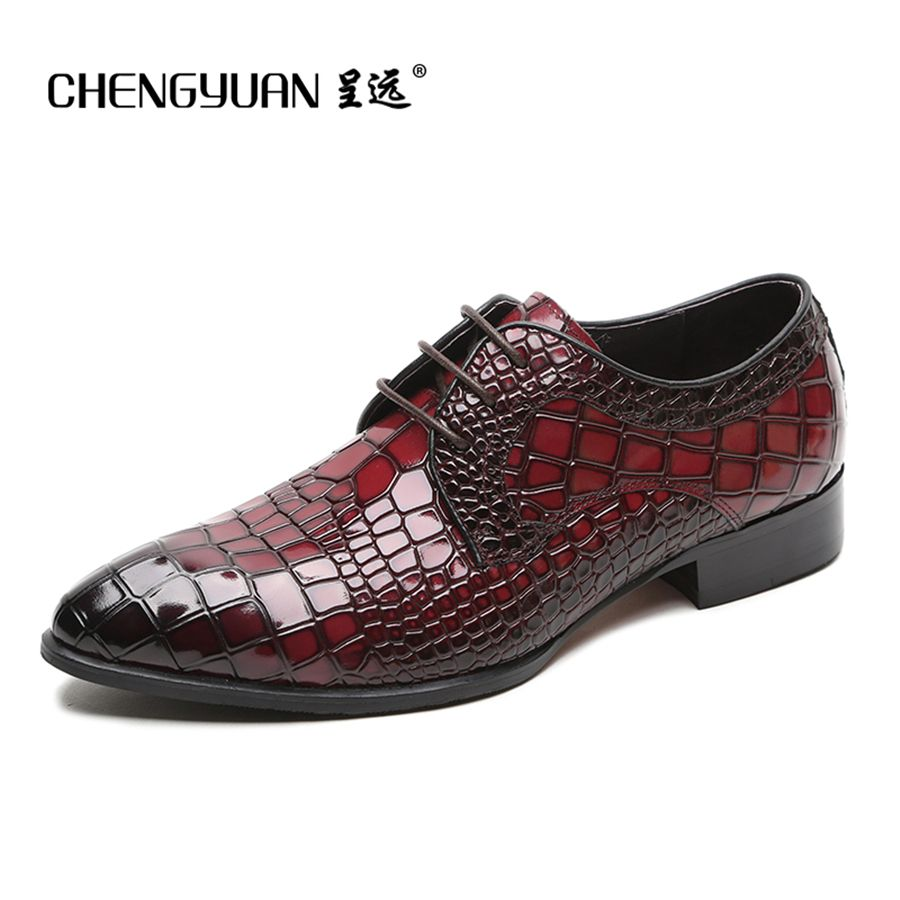42794280bf0b Click to Buy    mens pure leather business leather shoes men wine ...