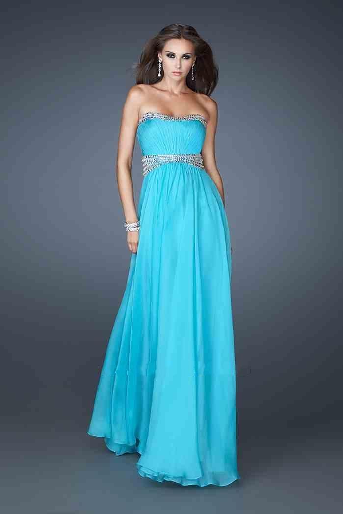 Long Tube Dress By La Femme 18611 Hot Dresses Discount Price