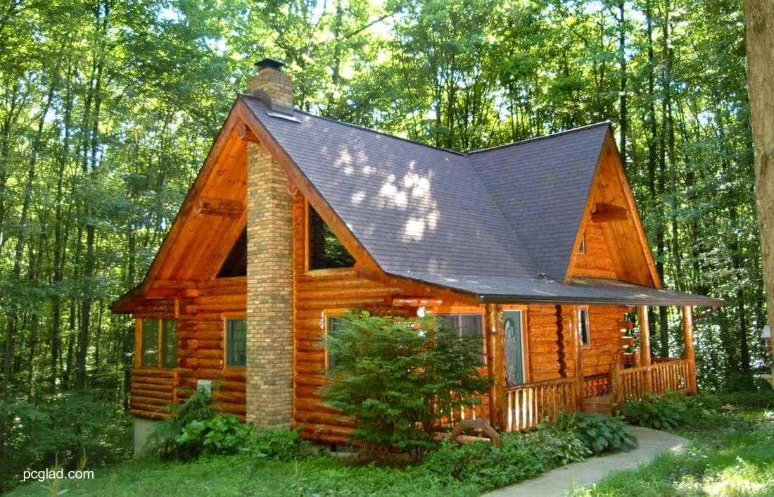 Arquitectura de casas 11 caba as r sticas peque as de - Casas de madera pequenas y baratas ...
