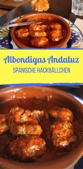 "Photo of Spanish meatballs ""Albondigas Andaluz"""