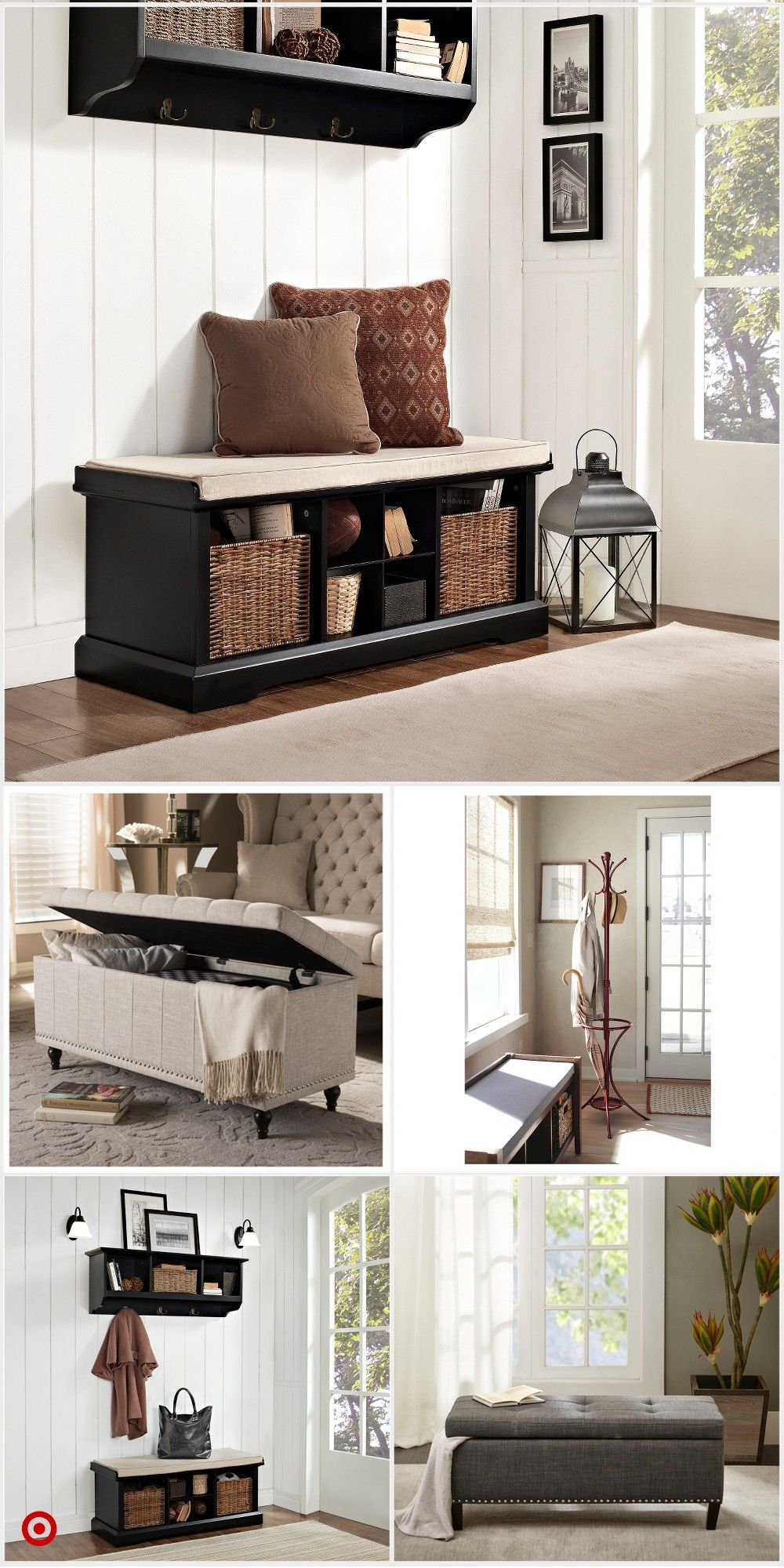 Shop Target For Storage Bench You Will Love At Great Low Prices Free Shipping On Orders Of Farm House Living Room Living Room Decor Apartment Home Living Room