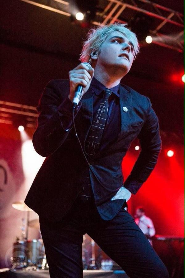 Blonde Haired Gerard The Hit Single From Mcr S Unreleased Album