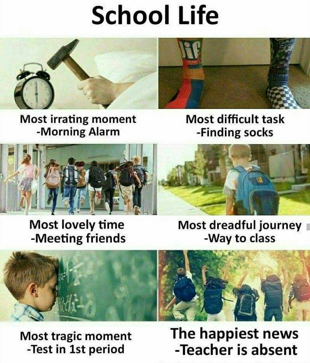 Pin by MOHD BILal on girls status | Funny school jokes ...