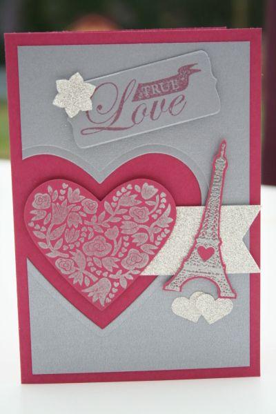 Valentine card  CardsValentinesLove A  Pinterest  Valentines