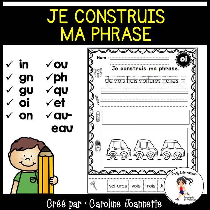 Build A Sentence French Sounds Phrases A Construire Distance