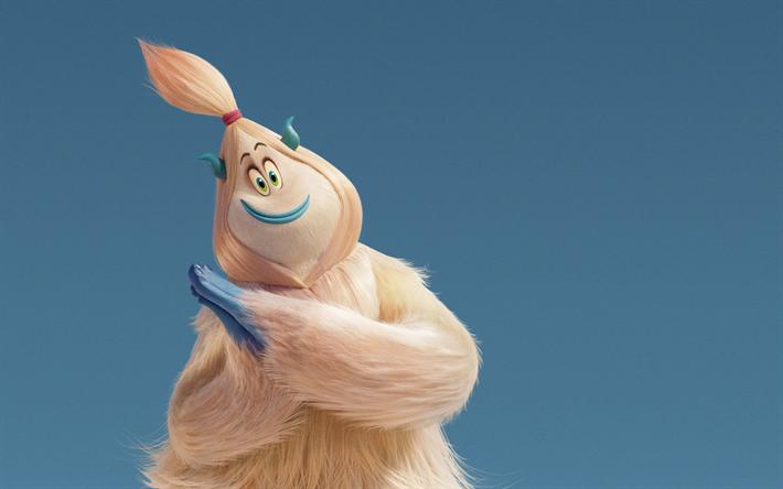 Lataa kuva Gina Rodriguez, 2018 elokuva, seikkailu, 3D-animaatio, Smallfoot