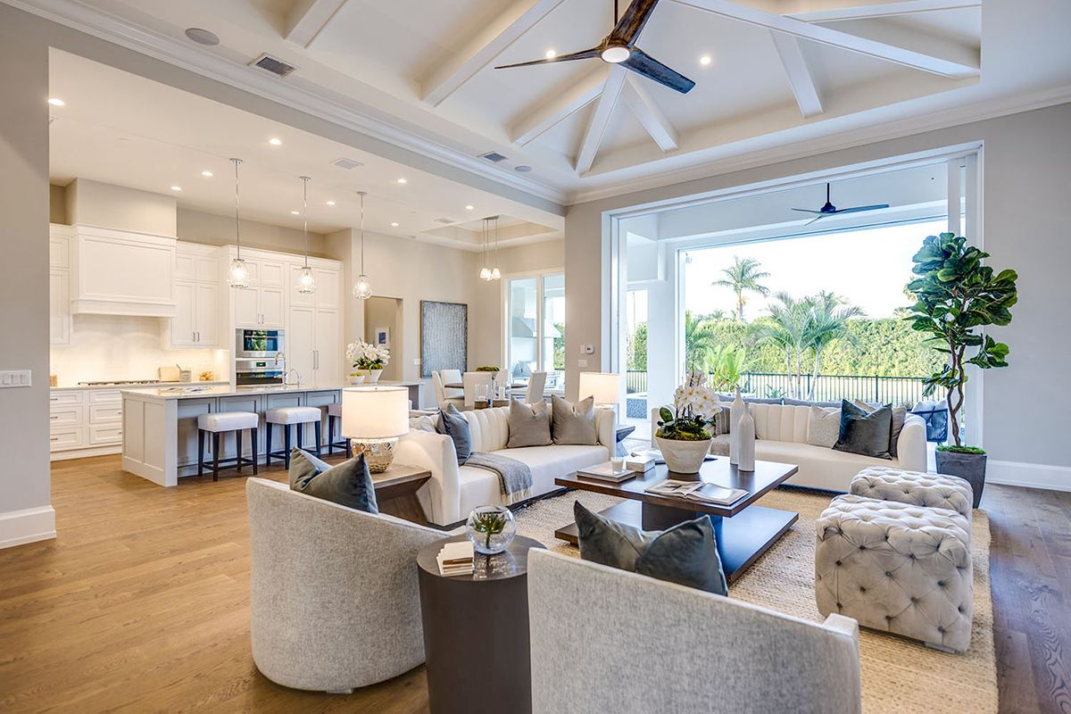 Plan 86083bs One Level Beach House Plan With Open Concept Floor Plan Beach House Flooring Open Concept Floor Plans Beach House Plan