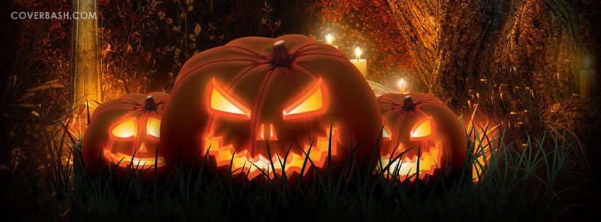 Halloween Pumpkins Facebook Cover Coverbash Com Halloween
