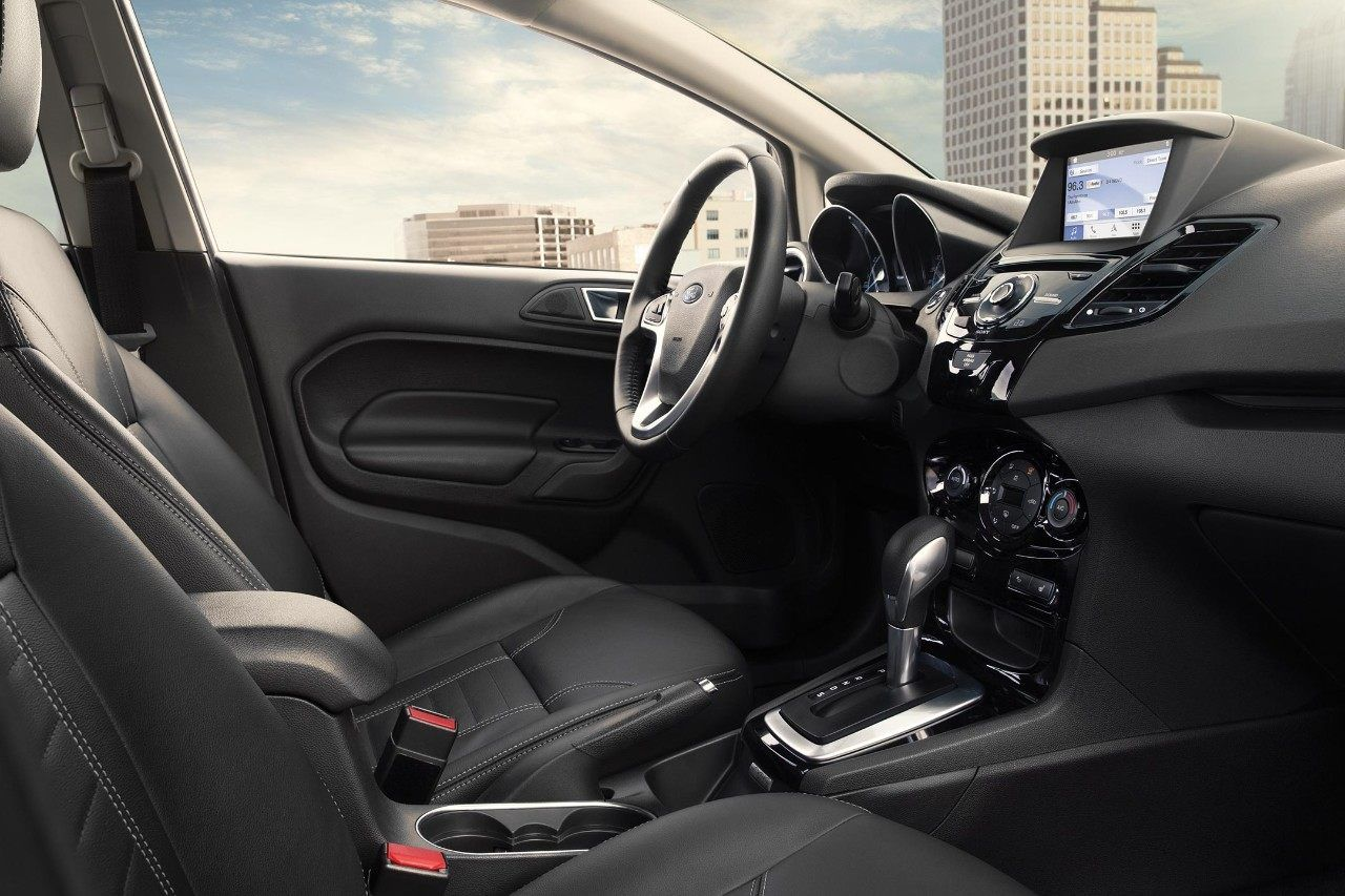 2018 Ford Fiesta Titanium interior with SYNC 3 and more