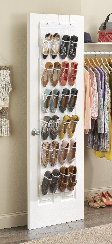 Whitmor 6044 13 Ctf Over The Door Shoe Organizer Small Closet