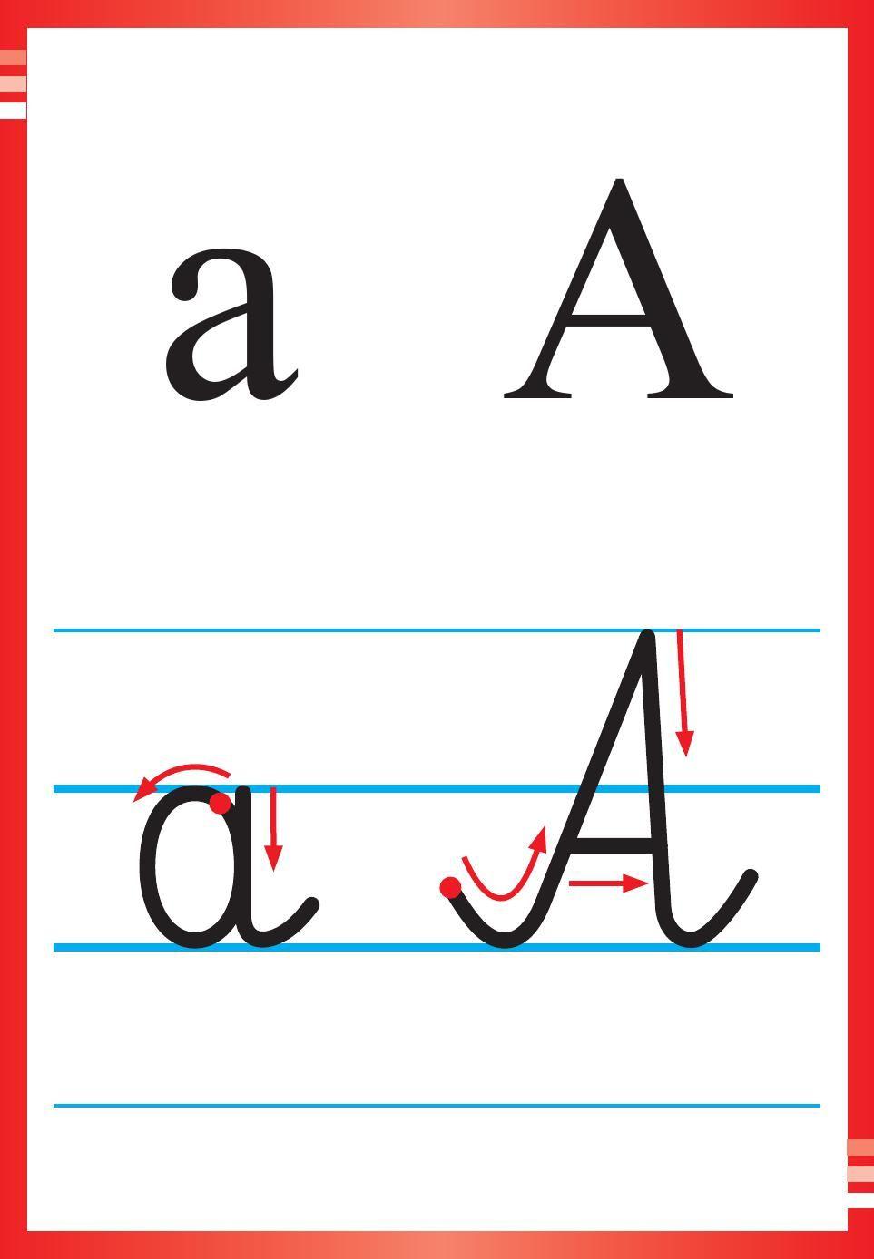 Alfabet Polski Pisany Dla Dzieci Do Druku 1 Dzieci Montessori