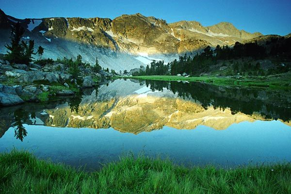 Hoover Wilderness Area, above Saddlebag Lake in the Sierra Mountains