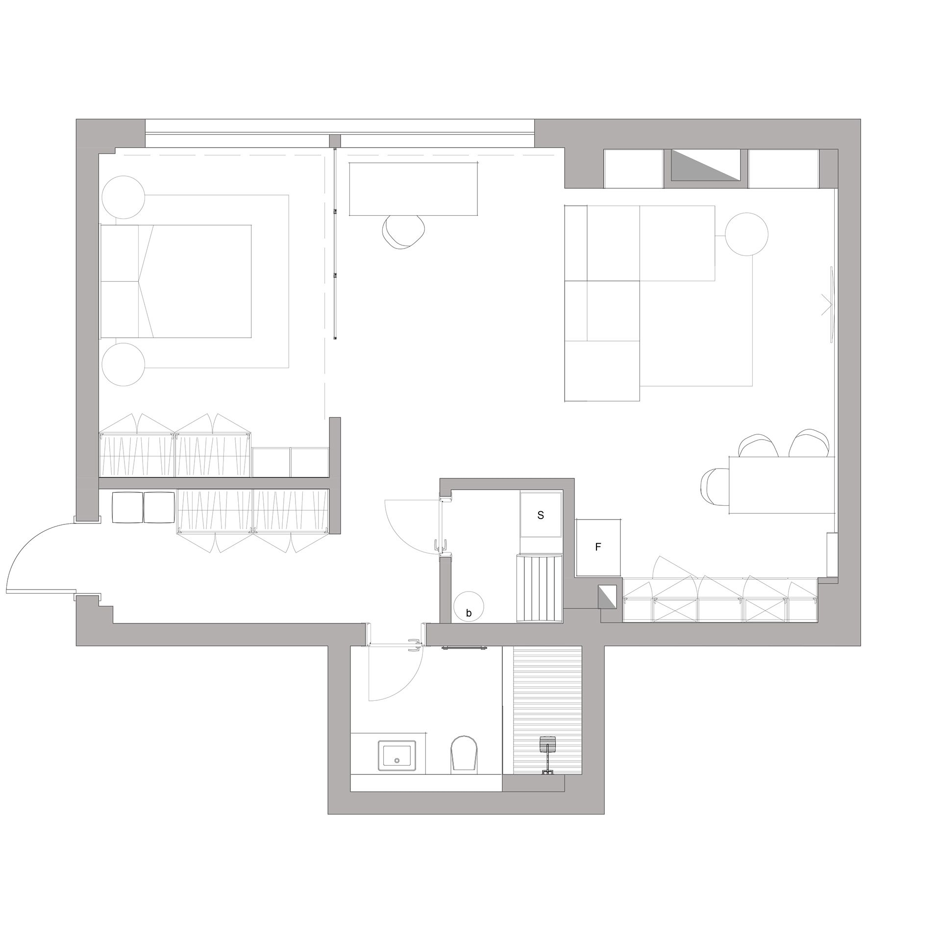 3 Modern Home Interiors Under 70 Square Metres (750 Square
