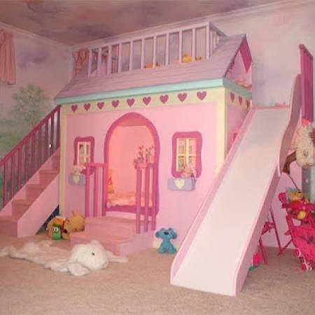 Dormitorio Casa De Juegos Bebe Pinterest Girls Bedroom