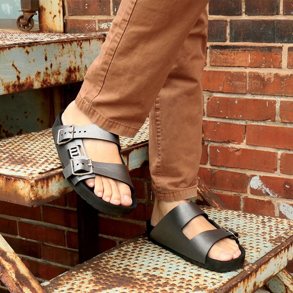 663c4aba2d0937 Mens 2-Strap Sandal - Customize your color combo - Vegan