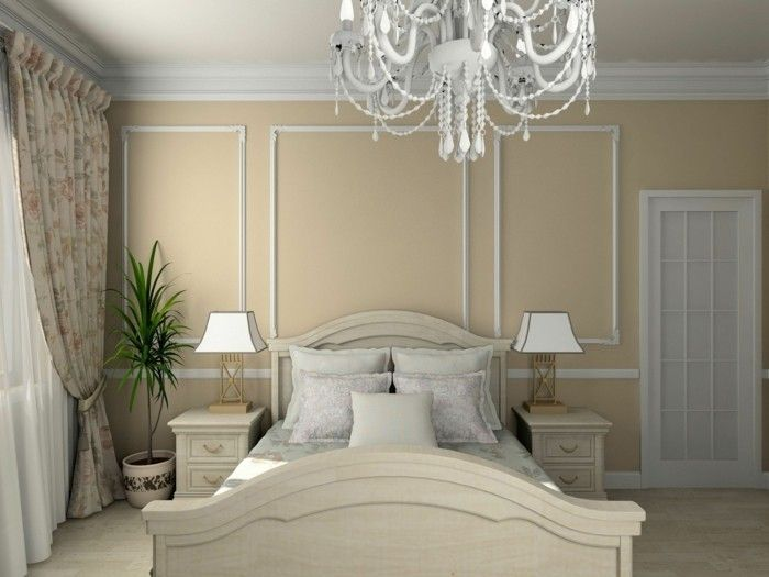 Housing trends-2017 wall paint color trends cream bedroom wall ...