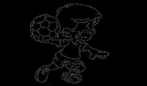 Aneka Mewarnai Gambar Olahraga Bola Tangan Coloring