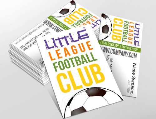 Fun Business Card Design Ideal For Childrens Activites Customise