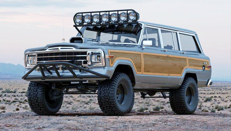 1990 Jeep Grand Wagoneer Jeep Wagoneer 4x4 Jeep Grand