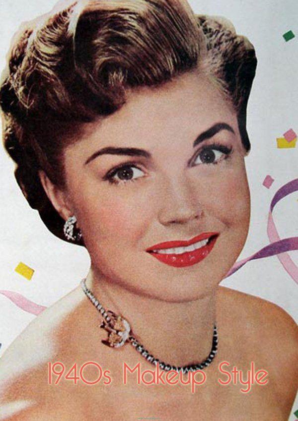 1940 makeup google search miracle hair pinterest ann es 40 annee et maquillage. Black Bedroom Furniture Sets. Home Design Ideas