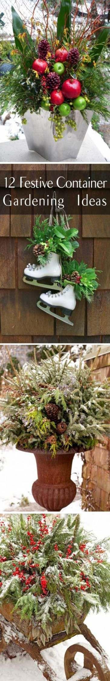 29 Ideas Garden Container Ideas Winter For 2019 #garden ...