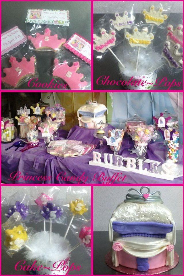 Disney Princess Candy Buffet Sweets~N~Treats (909) 882 ...